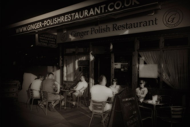 Ginger Polska Restauracja w Londynie