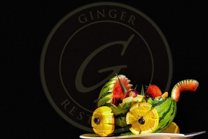 Ginger Polska Restauracja w Londynie-chrzciny